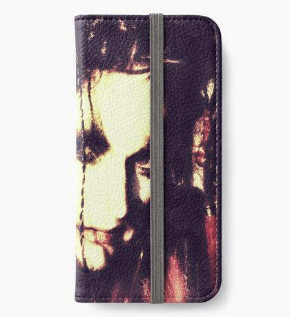 demon lady iPhone Wallet
