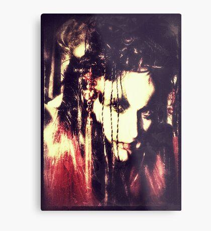 demon lady Metal Print