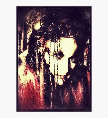 demon lady Photographic Print
