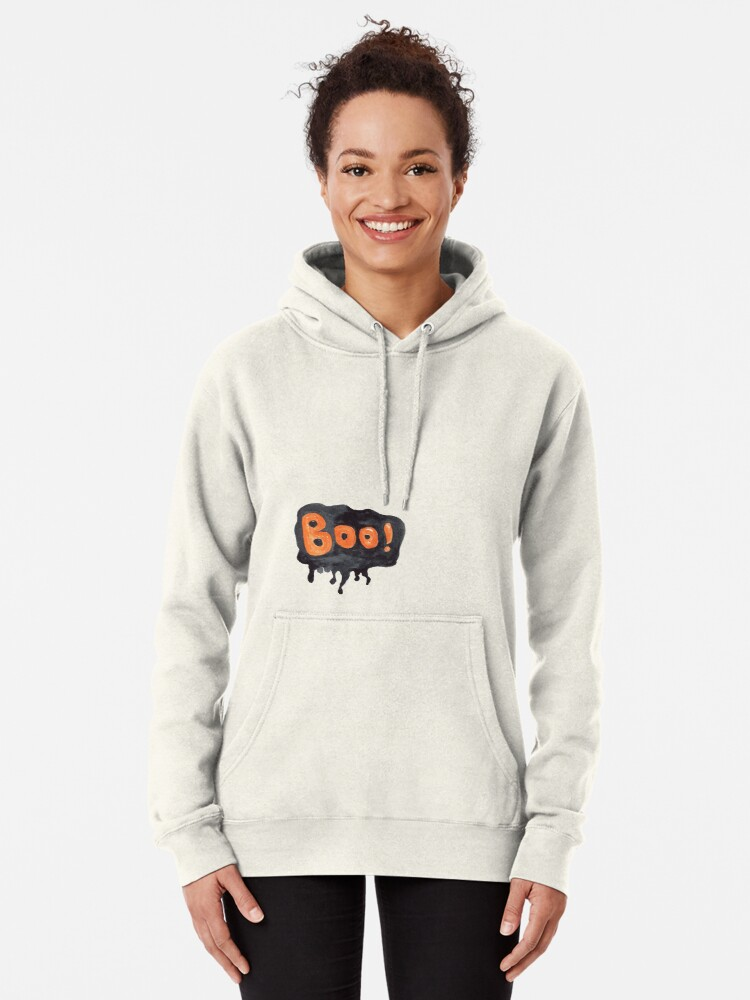 Alternative Ansicht von Handgemalte themenorientierte Halloween-Designs Hoodie