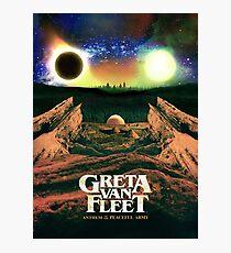 The top saliing Greta Cover new album Van Fleet Anthem of the pecadeful army Photographic Print