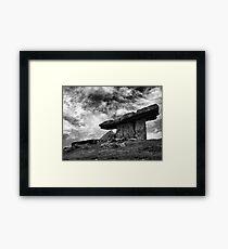 Poulnabrone Sky Framed Print