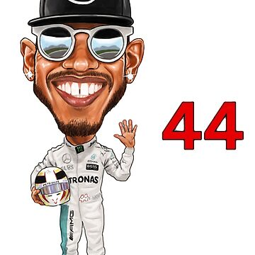 2018 Lewis Hamilton 5 World Championships by mal108
