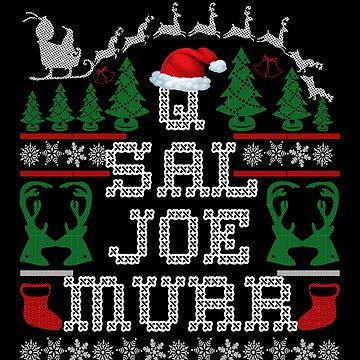 Impractical Jokers - Q & Sal & Joe & Murr - Christmas Sweater Design by birdeyes