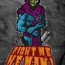 Skeletor Grunge Art by brokengrin