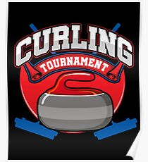 Curling Tournament Poster