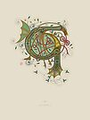 Celtic Initial G by Thoth Adan