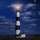 Night at Bodie Island Light by Kathy Weaver