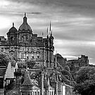 The view from the Scotsman - B&W by Tom Gomez