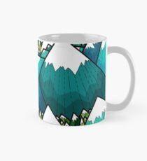 Pics et bois d'hiver Mug