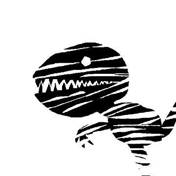 Darky Dino by Johnnypointjoe