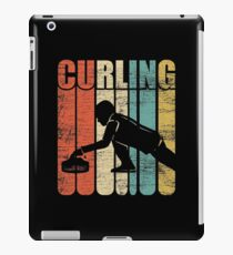 Curling competition iPad Case/Skin