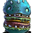 Monster Burger by Tom Godfrey