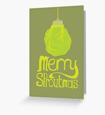 Merry Sproutmas Greeting Card