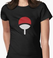 CLUB LOGO UCHIHA / UCHIWA NARUTO Women's Fitted T-Shirt