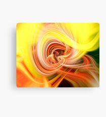 Yellow Movement in A Minor Canvas Print