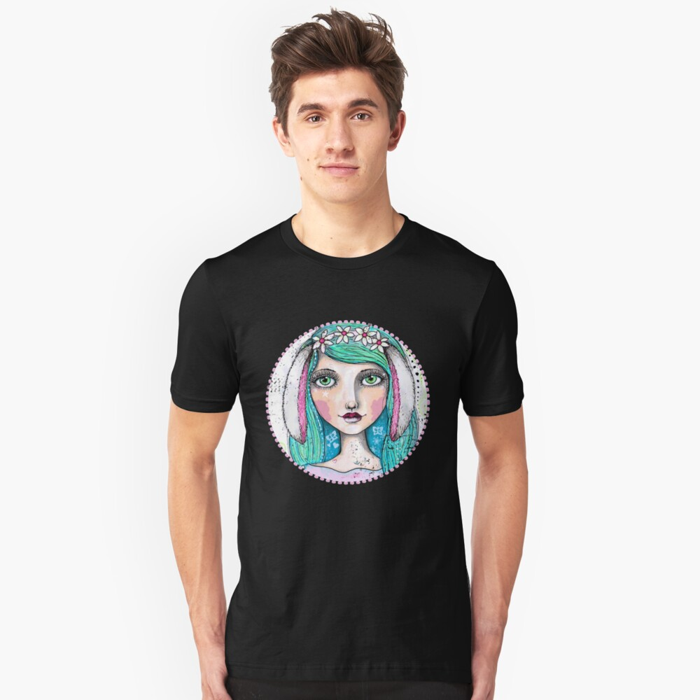 It's A Bunny Kind Of Day Slim Fit T-Shirt