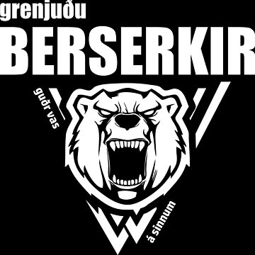 Berserkir Berserker Vikings White by norwik