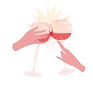 Red Wine Cheer von Sarah  Deters