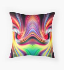 The Other Side Of The Rainbow Wormhole Floor Pillow