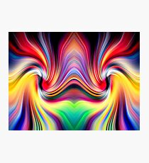 The Other Side Of The Rainbow Wormhole Photographic Print
