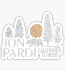 J PARDI Sticker