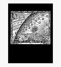 Flammarion Engraving Photographic Print