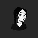 Wednesday Addams by Sydney Koffler
