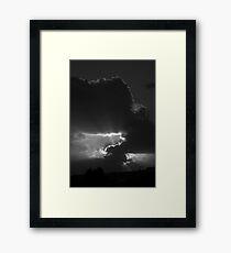 Beyond the Earth Framed Print