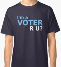 I'm a Voter Navy Classic T-Shirt