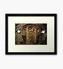 Descryptica Framed Print