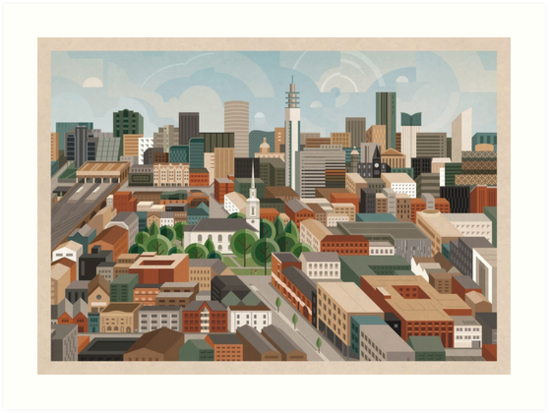 St Paul's & The City by Brumhaus
