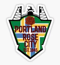Rep Your City: Portland Sticker