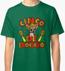 Cinco De Mayo Dog T-Shirt Chihuahua Mexico Classic T-Shirt