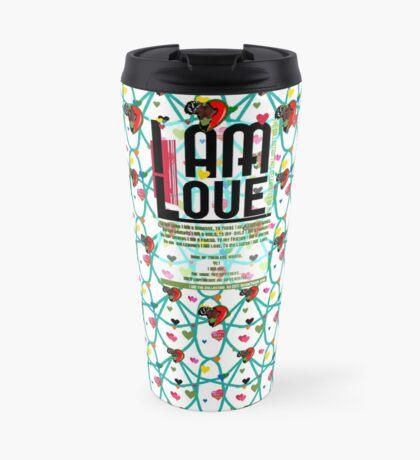 I am Love Travel Mug