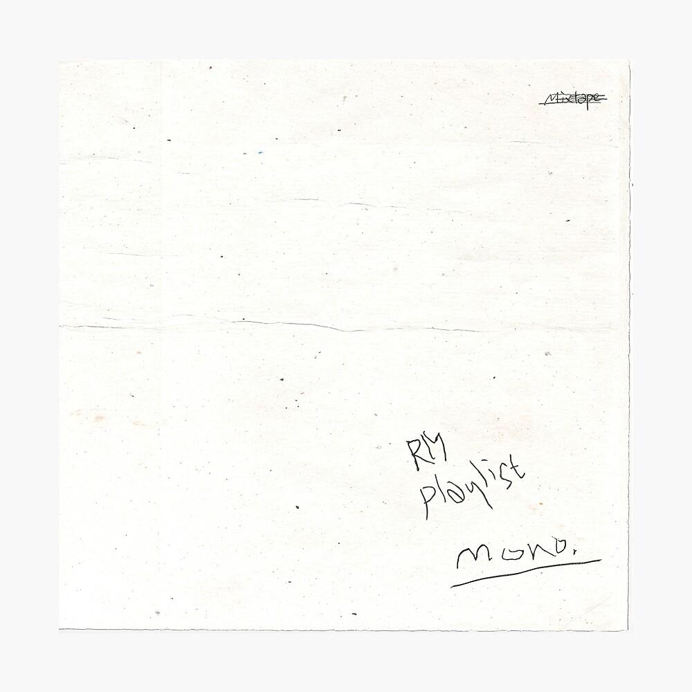 RM Mono Photographic Print