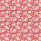Cherry Blossom Dot Pattern von Sarah  Deters