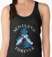 Scotland coastal landscape Women's Tank Top