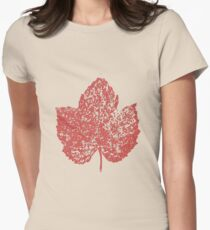 One Love/Leaf Women's Fitted T-Shirt