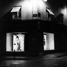 Paris Boutique at Night by Susan Chandler