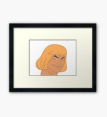 Heman Master of Universe Framed Print