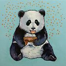 Panda Gamer by Michael Creese