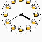 Beer Clock (Beer Time / Beer Hour / Watch) by MrFaulbaum