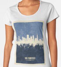 San Francisco California Skyline Women's Premium T-Shirt