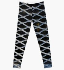 Metal Grate Leggings