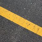 Diagonal Yellow Line by Logan McCarthy