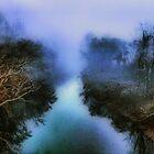 The Blue River II by Ann Eldridge