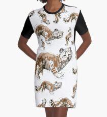 Andean mountain cat (AGA) Graphic T-Shirt Dress
