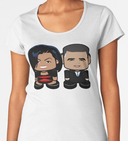O'bamabots: Greater Together POLITICO'BOT Toy Robots Women's Premium T-Shirt