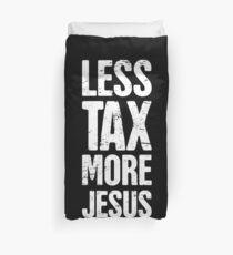 Christian Libertarian Election Gift - Jesus Duvet Cover